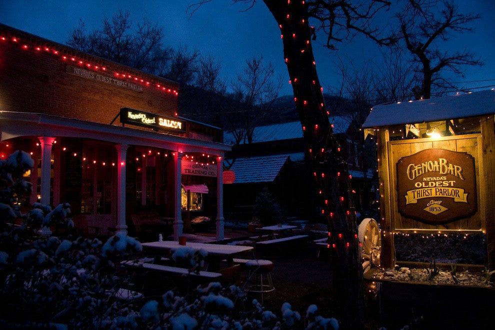 Tahoe Hot Springs >> Genoa Bar: Tahoe Nightlife Review - 10Best Experts and ...
