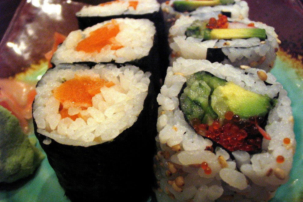 Chow down on sushi for one flat fee