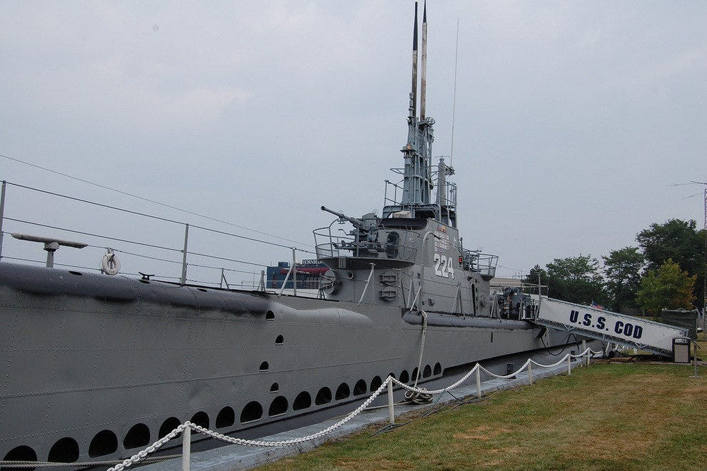The U.S.S. Cod in Cleveland