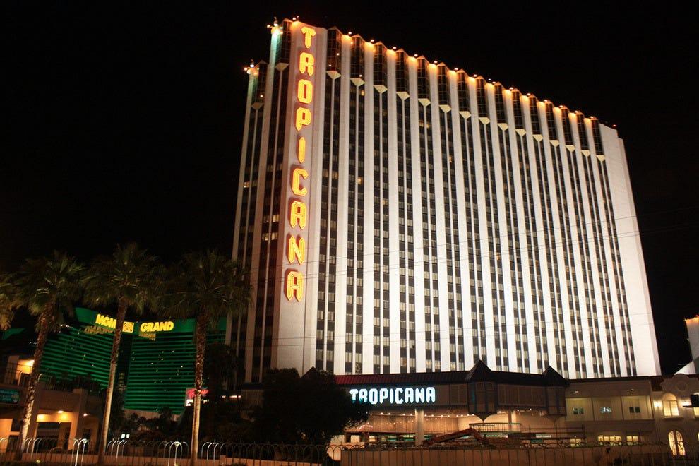 拉斯维加斯热带酒店-希尔顿酒店的双程酒店