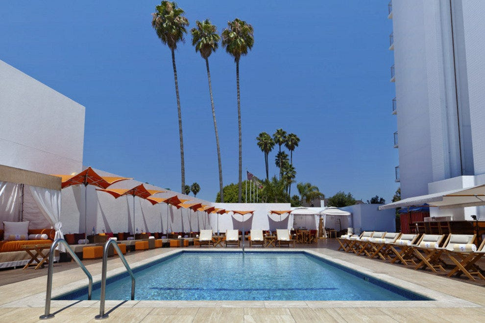 Poolside and Cabanas at Mr. C Hotel