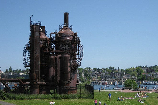 Gas Works Park picnic