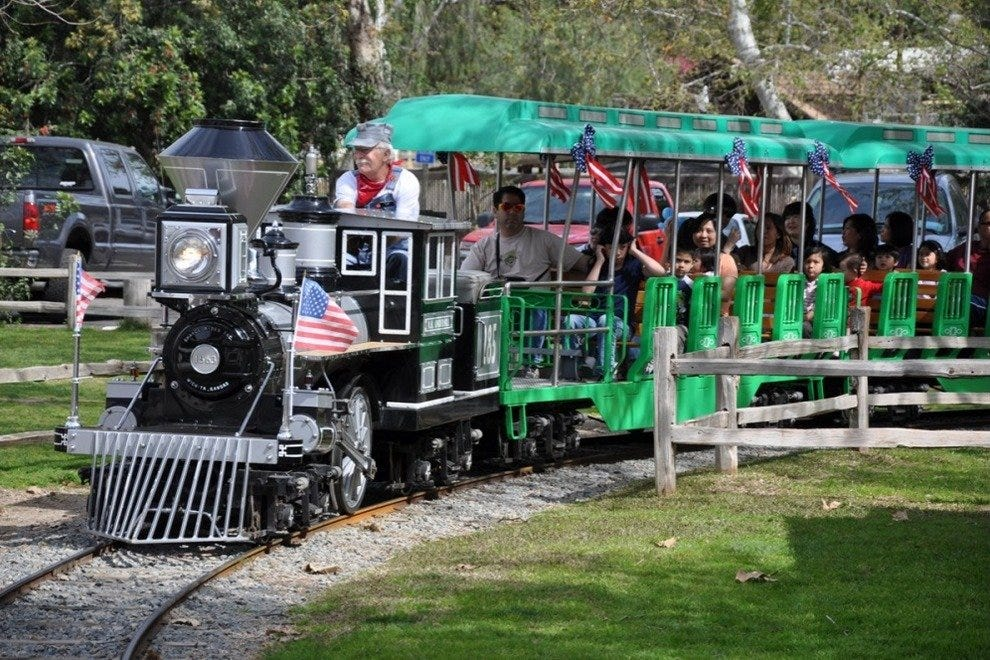 Irvine Regional Park and Irvine Park Railroad
