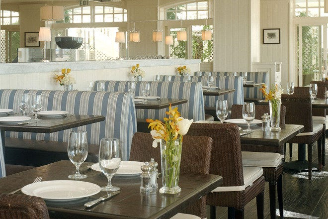 The dining room at Coast