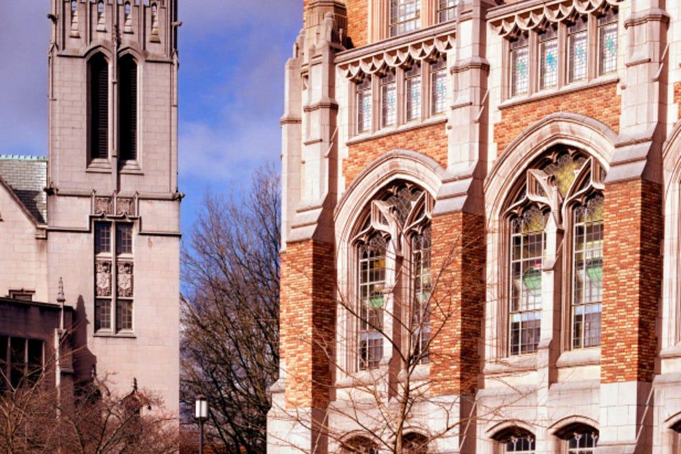 Suzzallo Library and Gerberding Hall, University of Washington