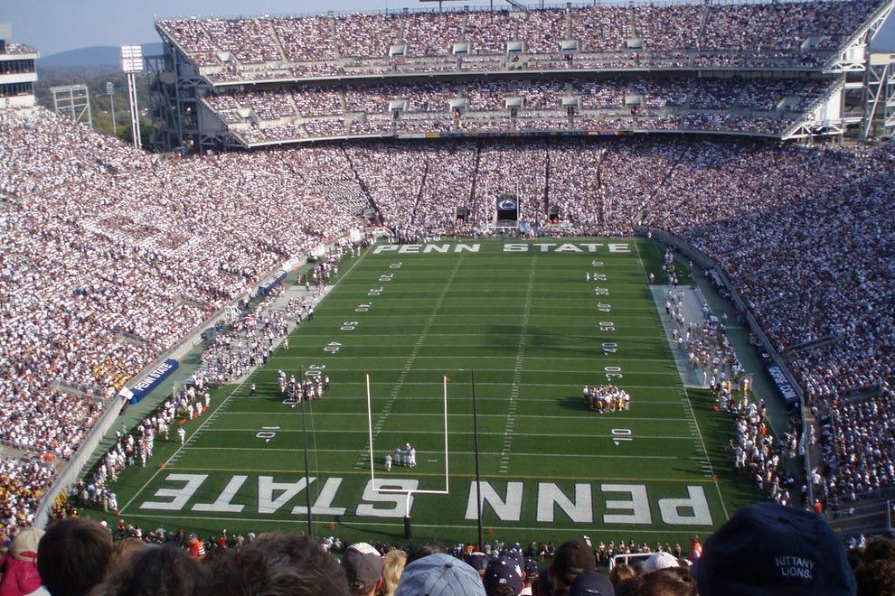Beaver Stadium at Penn State