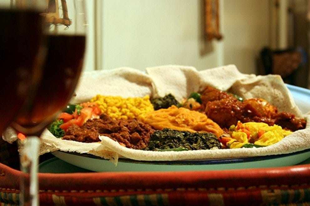 Ethiopian Restaurant West Philly