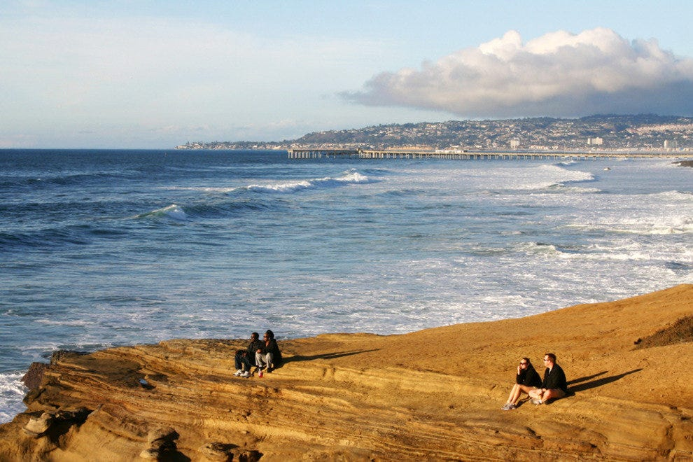 San Diego Beaches, Sunset Cliffs