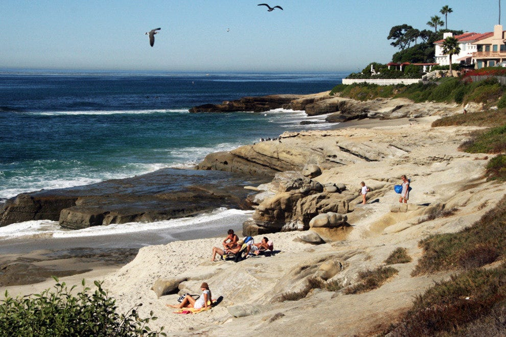 San Diego Beaches, Windandsea near La Jolla, California