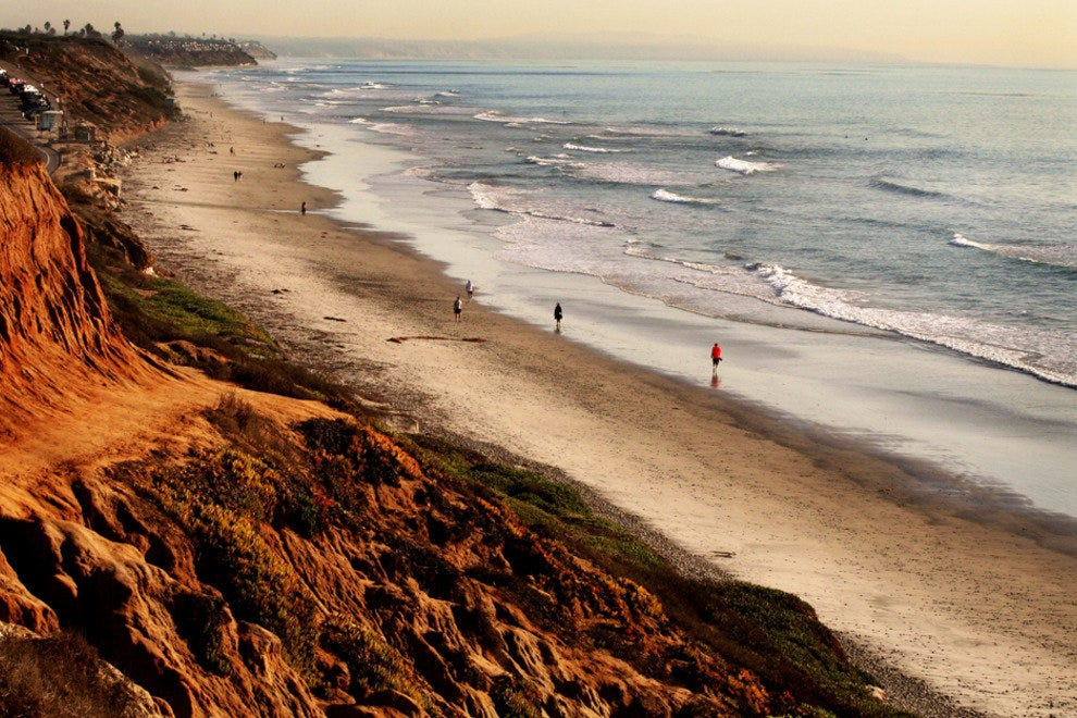 San Diego Beaches, Encinitas Coastline