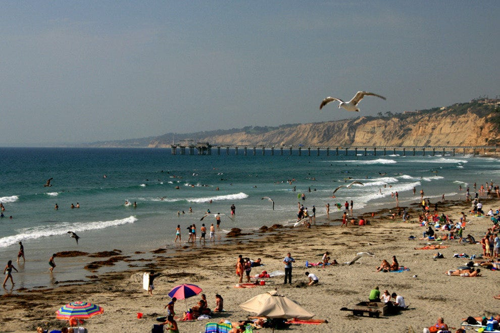 San Diego Beaches, La Jolla Shores