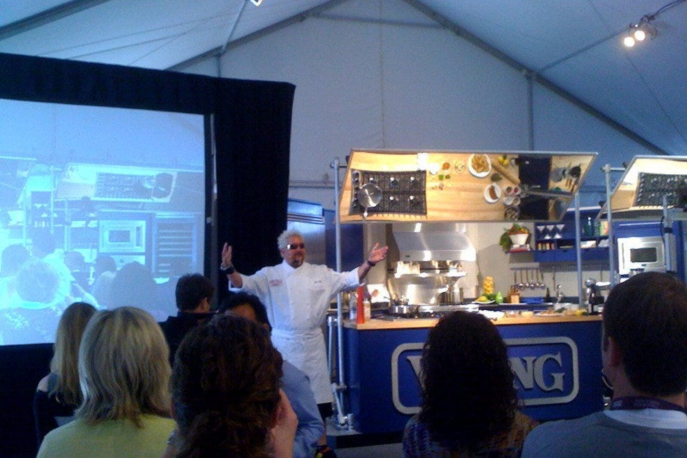 TV personality Guy Fieri at Pebble Beach Food and Wine Festival