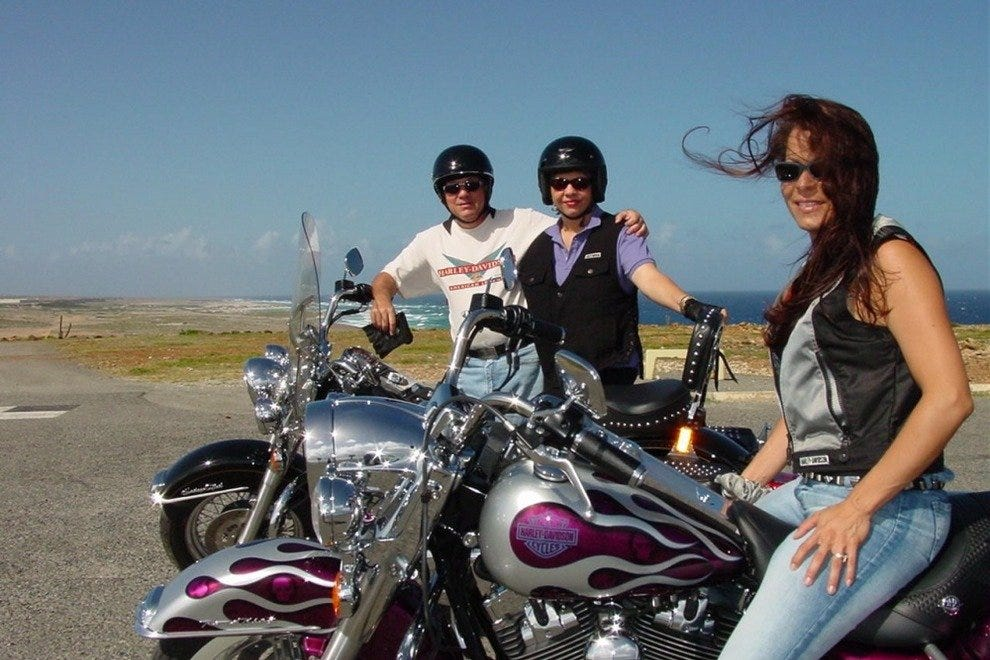 Big Twin Aruba Harley Island Tours