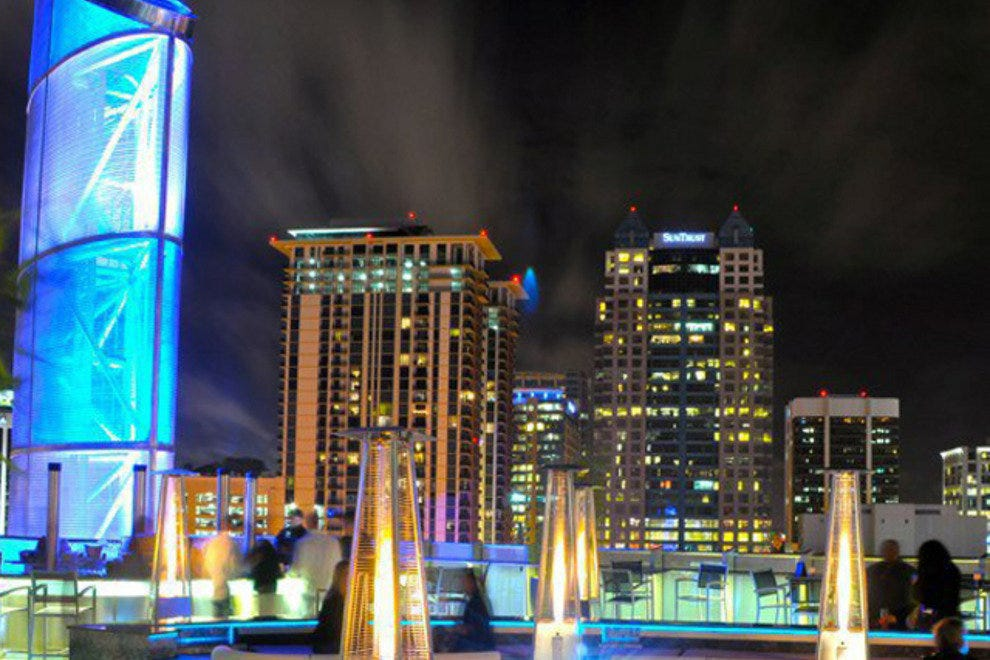 One80 Skytop Lounge Orlando Nightlife Review 10best