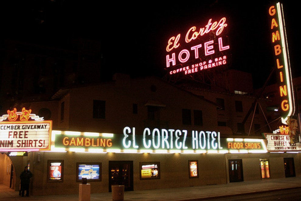 The historic El Cortez
