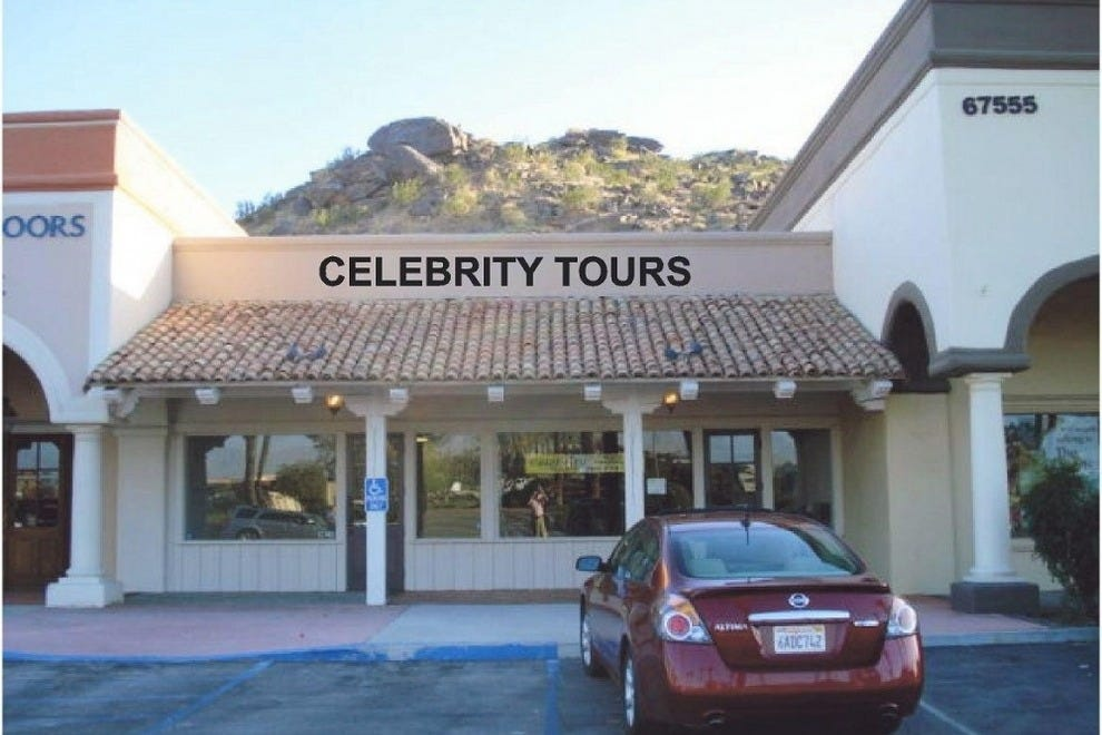 Things to do in rancho mirage palm springs neighborhood for Celebrity tours palm springs california