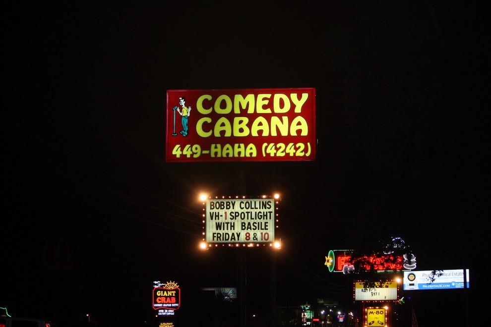 Cabana Comedy Club In Myrtle Beach Sc