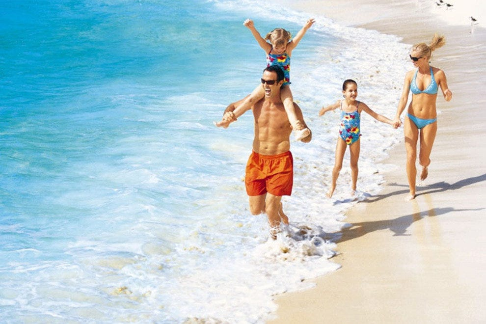 Dreams Cancun Resort & Spa is the ideal place for a family vacation.