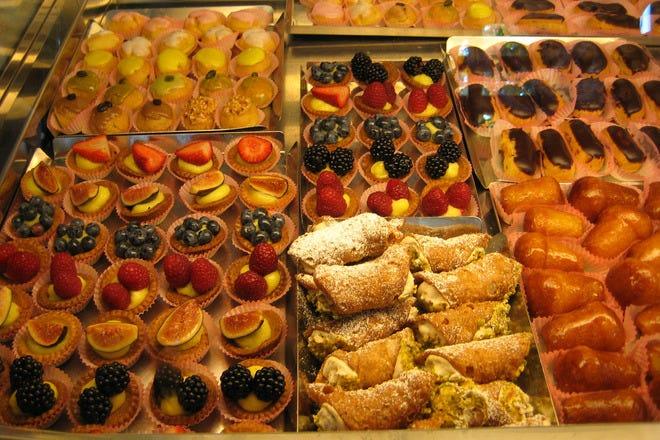 Dessert in Rome