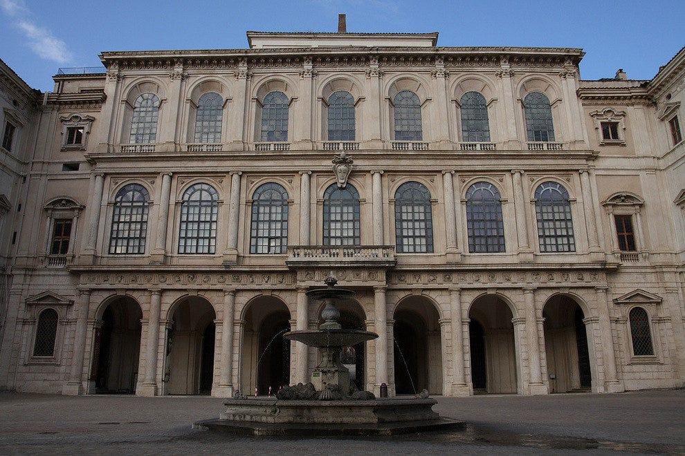 A new exhibition space for Palazzo Barberini