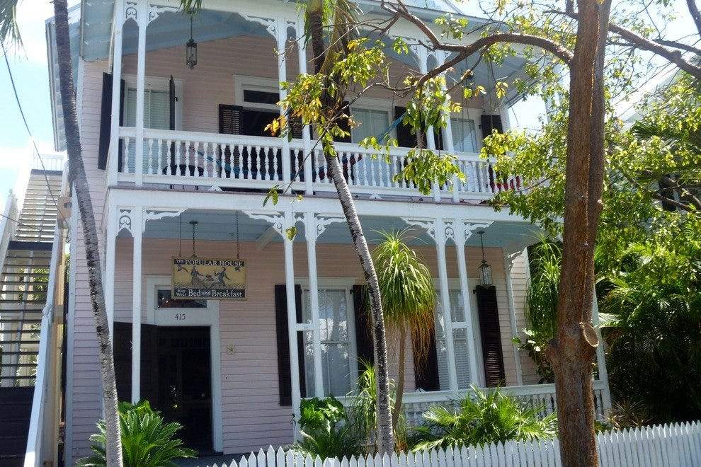 The Popular House Key West Bed and Breakfast