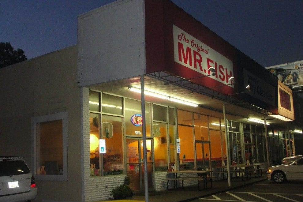 Mr Fish Seafood Grill Myrtle Beach