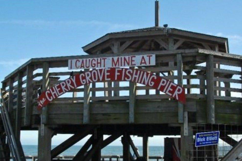 Cherry grove fishing pier myrtle beach attractions review for Cherry grove pier fishing report