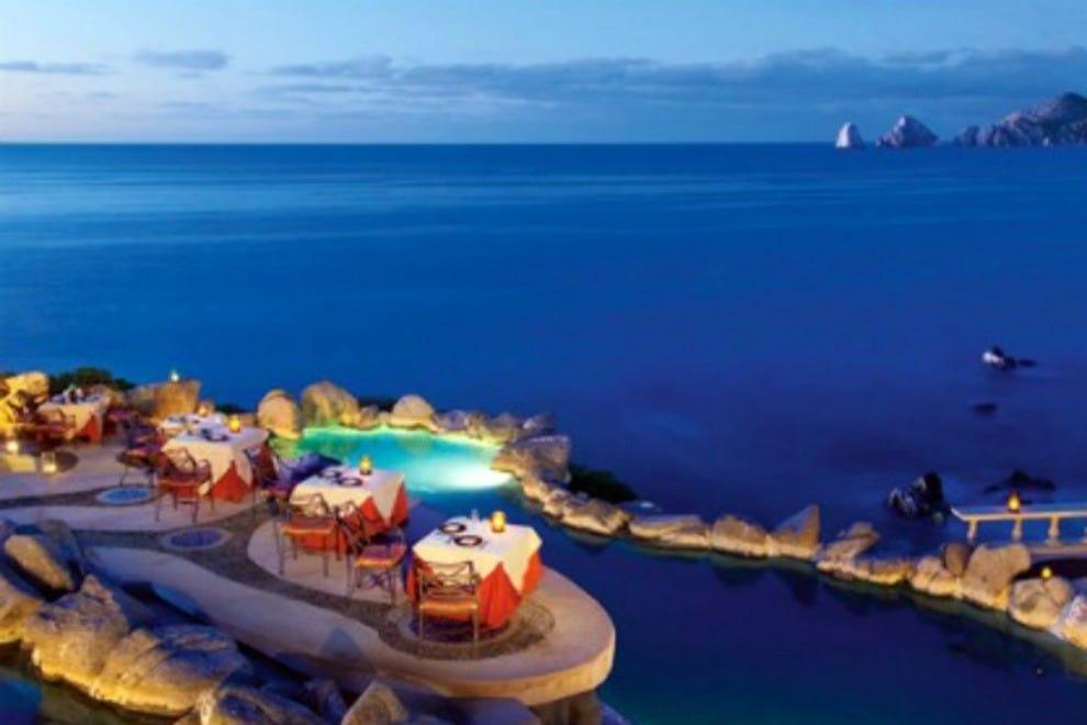 Cabo san lucas restaurants restaurant reviews by 10best for Romantic restaurant san jose