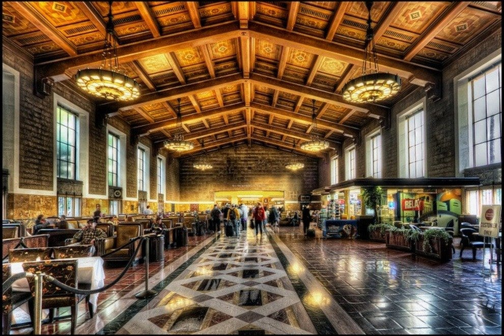 联合车站大厅