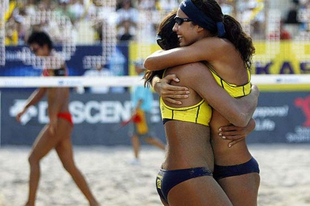 Beach Volleyball Players
