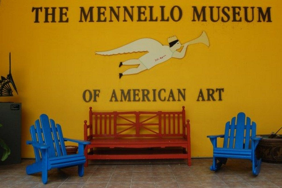 Entrance to Mennello Museum