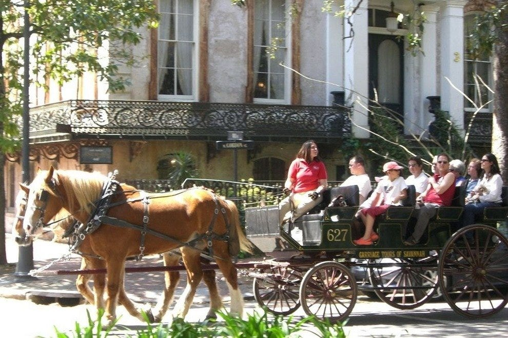 Carriage Tours Of Savannah Savannah Attractions Review 10best