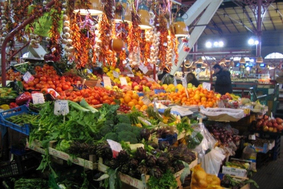 Fruit on display in Mercato Centrale