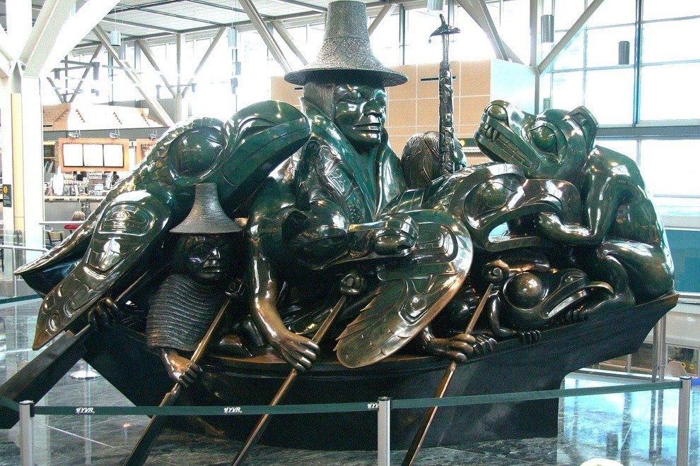 Spirit of Haida Gwaii in Terminal 3