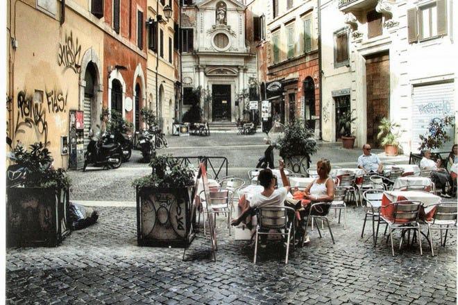 Cafés in Rome