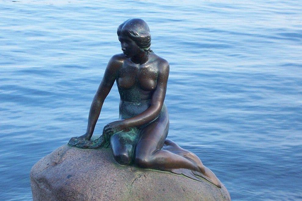 Ден Лилль Гавфру Лучшые достопремечательности Копенгагена Лучшые достопремечательности Копенгагена p Little mermaid copenhagen erling a 54 990x660 201405312328
