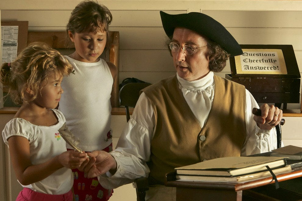 "Historic Re-enactors Show the Story of the ""Fighting Quakers"""