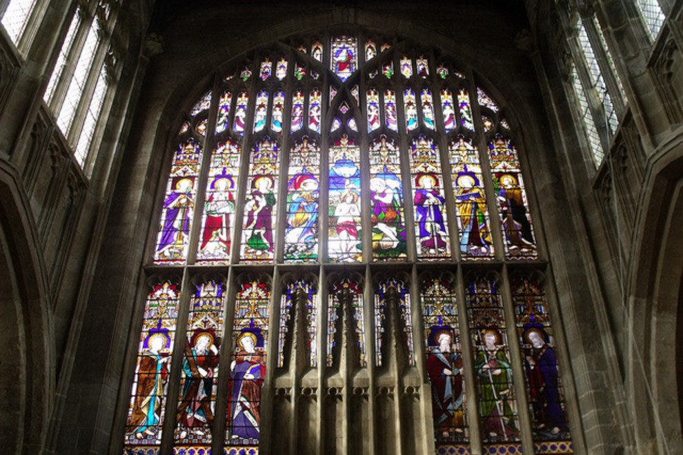 Stained Glass Window, Holy Trinity Church