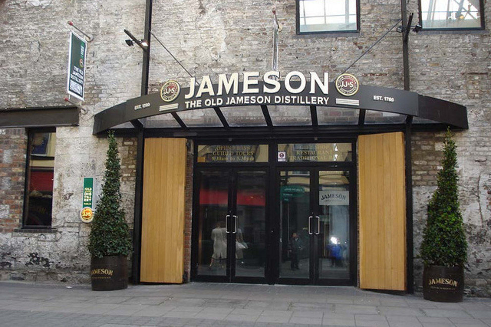 The Old Jameson Distillery Entrance