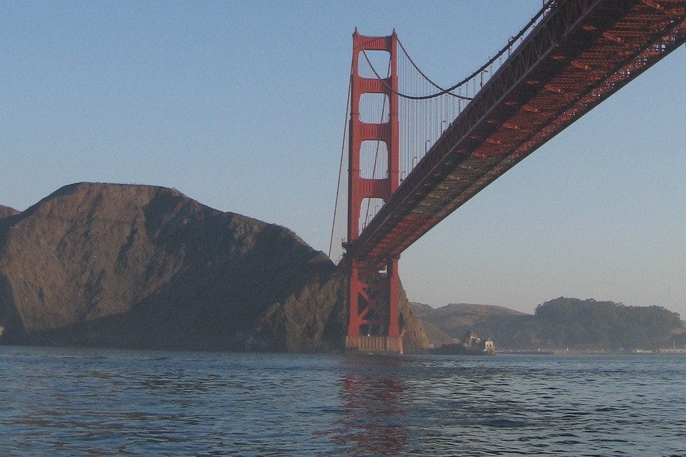 Golden Gate Bridge, Pacific View