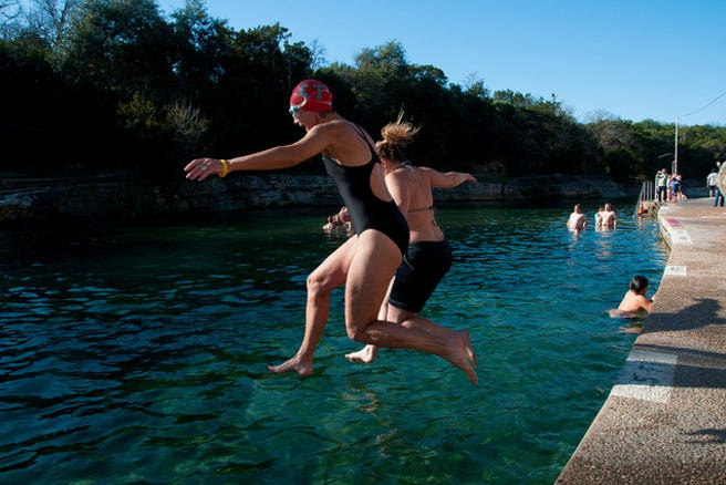 Natural springs and cool pools across the usa slideshows photo gallery by for Barton swimming pool timetable