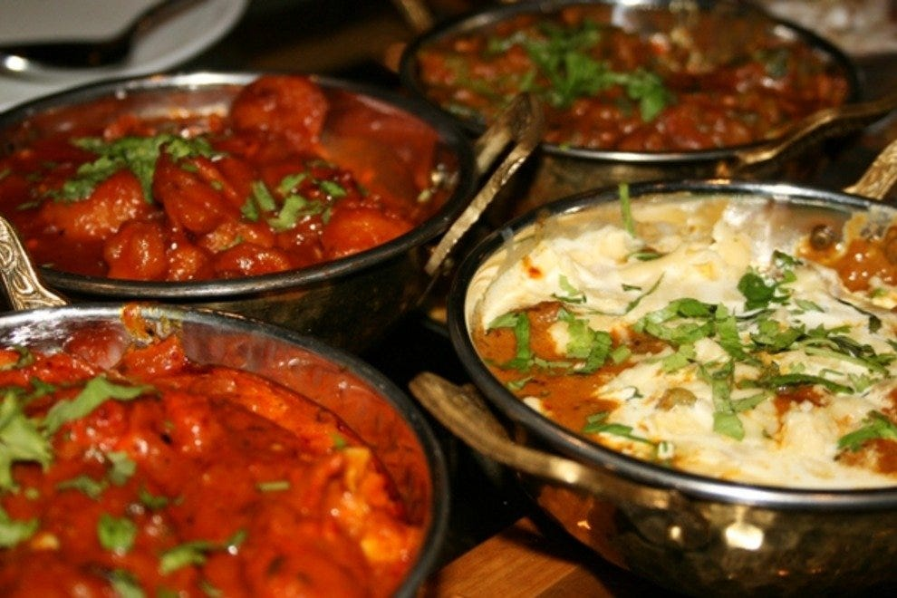 Indian Restaurant Curry