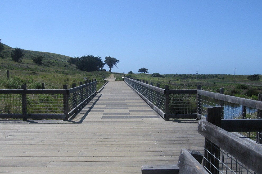 Mori Point walkway