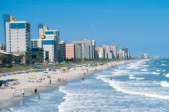 Myrtle Beach's Finest Hotels Offer Luxurious Rooms with an Ocean View