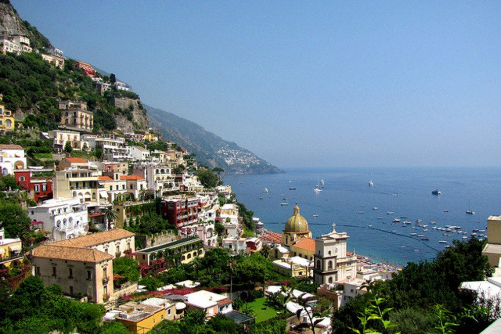 Positano, on Italy's Amalfi coast