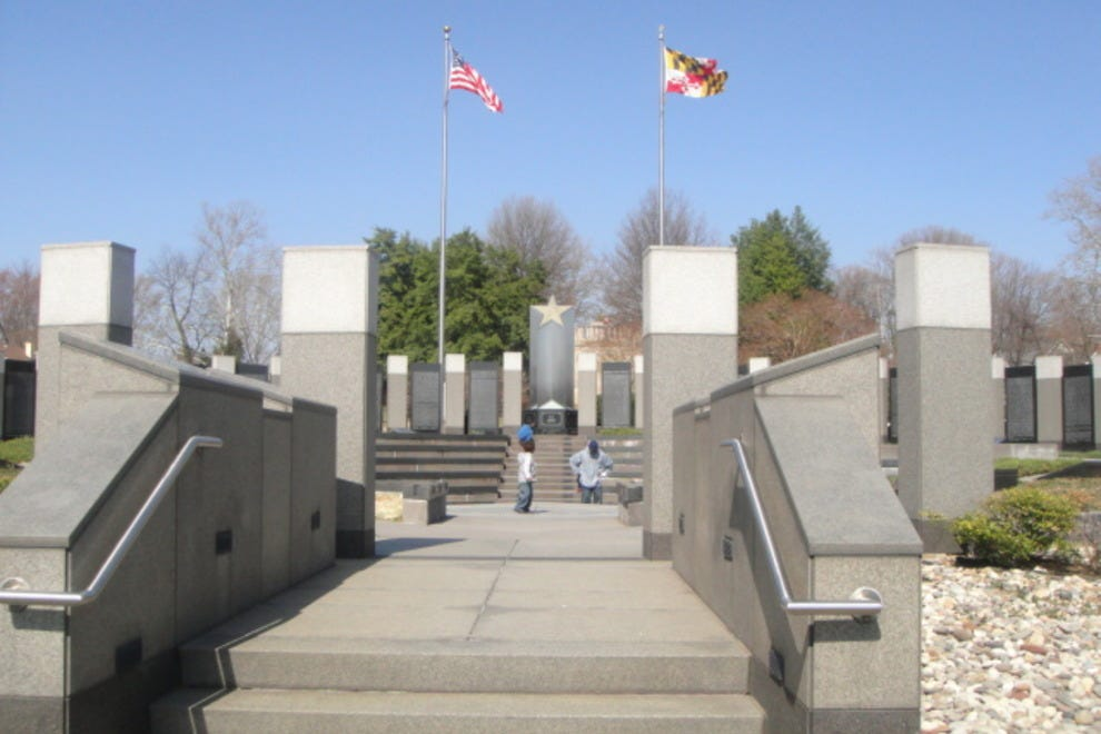 Steps to the WWII Memorial