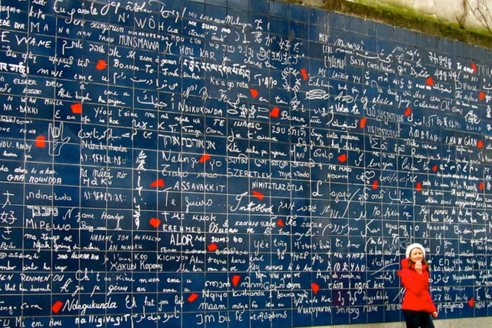 Wall of Love Montmartre