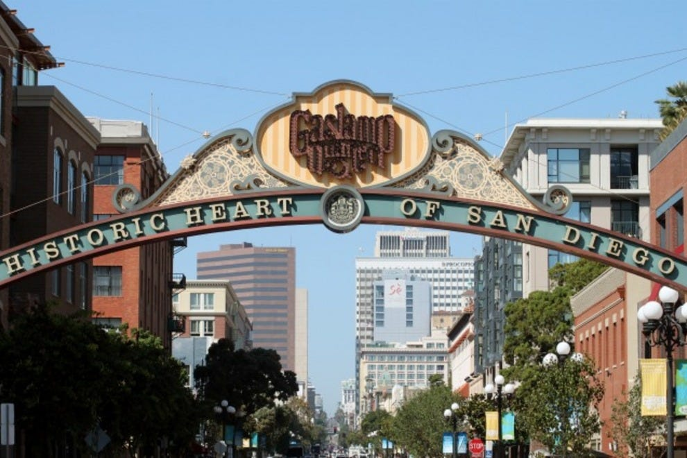 About Gaslamp Quarter. Photo Courtesy Of San Diego ...