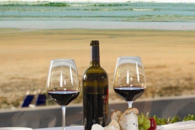 圣地亚哥的海滩餐厅