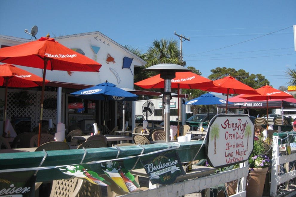Tybee Island Boardwalk Restaurants